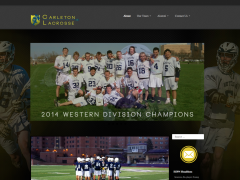 Lacrosse Team Website